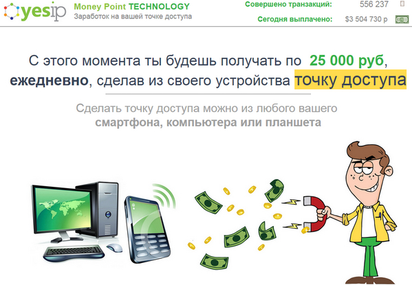 лохотрон Money Point TECHNOLOGY отзывы