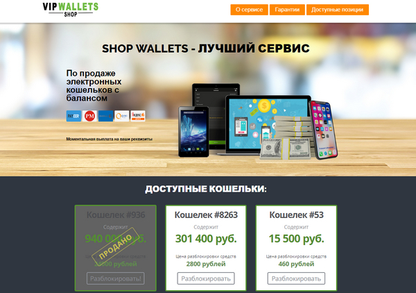 Shop Wallets отзывы